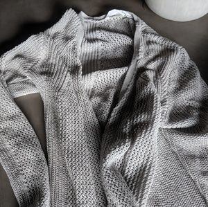 Athleta open knit cardigan
